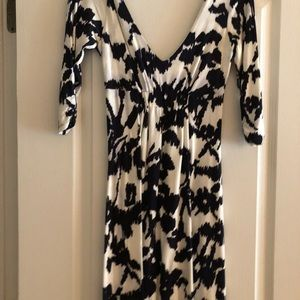 Cabi black and white dress. XS